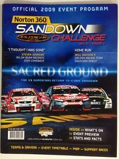 NORTON 360 SANDOWN 2009 V8 SUPERCARS CHAMPIONSHIP PROGRAM ATCC LOWNDES TANDER