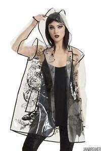 Jawbreaker Womens Necromancer Raincoat Not specified Alternative Gothic