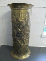 Vintage Brass Umbrella Stick Hall Stand 45cms
