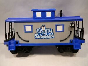 Lionel FROSTY THE SNOWMAN Caboose G-Gauge ADD ON Replace Blue Train Car 7-11498