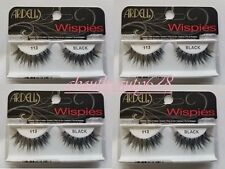 Ardell Fashion Lashes #113 Eyelashes Black 4 pack-Free Ship