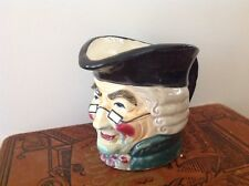 Vintage Toby Style Character Mug Collectible Nice Rich Jewel Tones