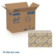 2400 Scott Paper Towel C-Fold, 200 Count Pack, Kimberly Clark 01510 Case of 12