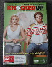 KNOCKED UP DVD (region 4)  EXCELLENT CONDITION