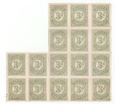 VICTORIA 16x3d SAGE GREEN STAMP DUTY...MINT CONDITION..NO HINGE