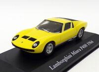 Atlas Editions 1/43 Scale 2 891 007 - 1966 Lamborghini Miura P400 - Yellow