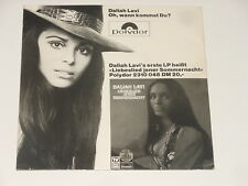"Daliah Lavi – 7"" Single – Oh, Wann kommst Du? - MUSIK BOUTIQUE Cover – ULTRA RAR"