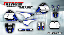 YAMAHA PW 80 PW80 PEE WEE Graphics Kit Decal Design Stickers Motocross MX Enduro