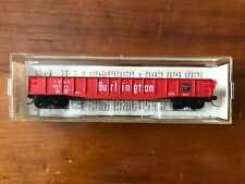 Micro-Trains/Kadee #46030 Vintage 50' Gondola - Burlington/CB&Q - NIB/Mint