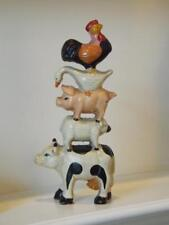 Midwest Importers Cannon Falls Farm Animals Door Stopper Cow Pig Duck Rooster