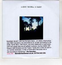 (HF971) Johnny Borrell & Zazou, The Artificial Night - DJ CD