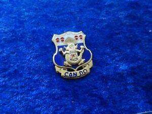 A52-12 Original US 15th Infantry Regiment Unit Crest (Can Do)