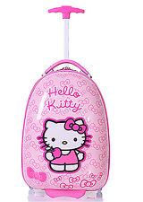 New Cute Hello Kitty 16 inch  Kid's Girls Hard Side Luggage Bag Trolley Baggage