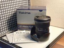 Tokina A-X 116 11-16mm f/2.8 PRO DX AF Lente per Nikon