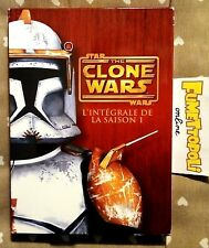 STAR the CLONE WARS Stagione 1 - 4 DVD Cofanetto ediz. francese traccia ITALIANO