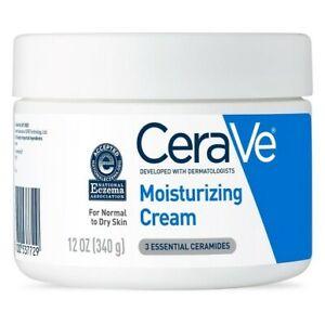 Cerave moisturizing cream 12oz Daily Face and Body Moisturizer