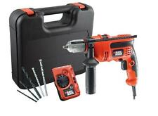 Black & Decker Velocidad Variable 710W 240V controlador de Taladro Martillo Destornillador Eléctrico