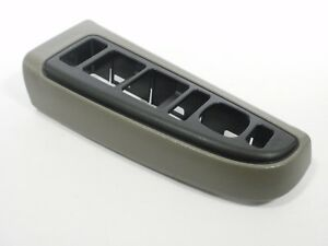 03-06 Window Switch Trim BEZEL Gray Pewter TAHOE SIERRA YUKON SILVERADO SUBURBAN