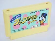 Famicom WANPAKU DUCK TALES YUME BOKEN Cartridge Only Nintendo Japan Game fc *