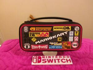 PDP Nintendo Switch Mario Kart Deluxe Travel Case for Console and Games, AM0-500