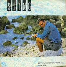 "STING ""LOVE IS THE SEVENTH WAVE"" new mix 7' UK mint-"
