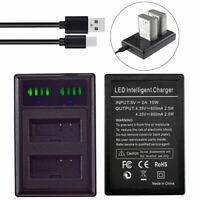 Battery Slim LED Charger For BLN-1 BLN1 Olympus OM-D E-M5 EM5 Camcorder Series