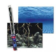 Aqua Nova Fotorückwand Tree Roots / Water L Poster Rückwand 100x50cm Aquarium