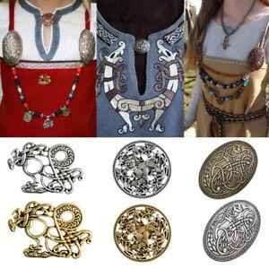 Retro Viking Pins Nordic Brooches Phoenix Dragon Sweater Pin Jewelry Gift