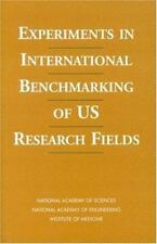 Experiments in International Benchmarking of U.S. Research Fields (Compass