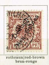 Deutsch-Neuguinea Mi.Nr. 6 gestempelt 1901 Friedrich-Wilhelmshafen 60,00 Euro.