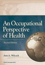 An Occupational Perspective of Health Hardcover Ann Allart Wilcock