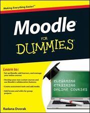 Moodle For Dummies by Dvorak, Radana