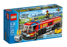 LEGO 60061 City Airport Fire Truck  BRAND NEW