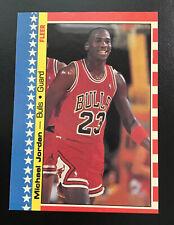 *1987-88 Fleer Sticker  # 2 Michael Jordan NM (PRINT LINE ON BACK)
