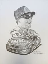 Tony Stewart Winston Cup Series 18x24 Lithograph Signed by Robert Stephen Simon