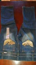 Cruel Camryn Camo Studs Blue Jeans Low Rise Boot Cut Western Cowgirl 11 Long
