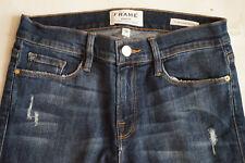 NWOT FRAME denim Grand Street LSJRE133 blue skinny jeans womens size 28