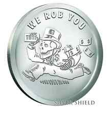 1 oz We Rob You BU  SILVER SHIELD  Pyramid of Power #11 SSG w/coa