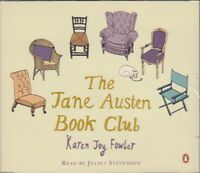Jane Austen Book Club Karen Joy Fowler 4CD Audio Book Juliet Stevenson FASTPOST