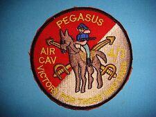 US ARMY 4th SQUADRON 3rd ARMORED CAVALRY RGT PEGASUS AIR CAV