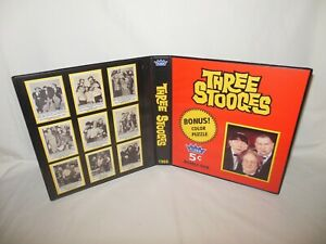 Custom Made 1966 The Three Stooges Trading Card Album Binder Graphics Only