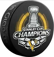 Pittsburgh Penguins 2016 NHL Stanley Cup Champions Souvenir Hockey Puck