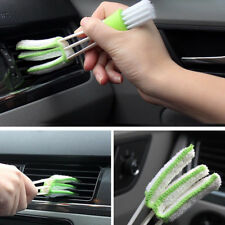 1* Mini Car Indoor Air-condition Brush Clean Tool Car Care Detailing For all car