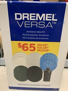 Versa Accessory Mega Kit Usable Dry Wet Application Polishing Cleaning 16 pieces