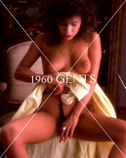 1980s NUDE 8X10 BUSTY BIG NIPPLES DENISE McCONNEL PHOTO FROM ORIGINAL NEG-DM1