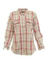 BPC Maternity Shirt Long Sleeve Blouse Check Pattern Pregnancy Umstandshemd Size