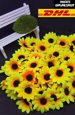 ☆ 100 Deko Blumen Blütenköpfe Tisch Deko 3,5cm Künstliche Pflanze ☆