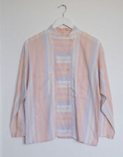 Button Down Shirt Unbranded Machine Washable Striped Tops & Blouses for Women
