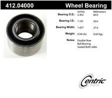 Wheel Bearing-Premium Bearings Rear,Front Centric 412.04000