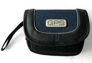 RDS GPS200 Traveler Universal Multi Pocket GPS Carrying Case Black  VERY GOOD